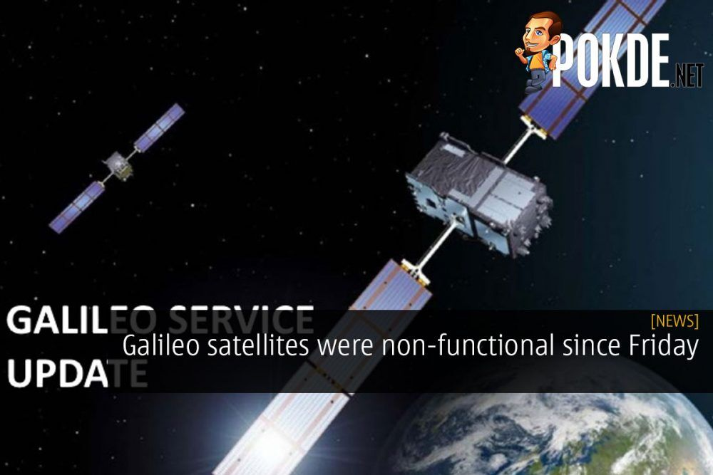 Galileo satellites were non-functional since Friday 23