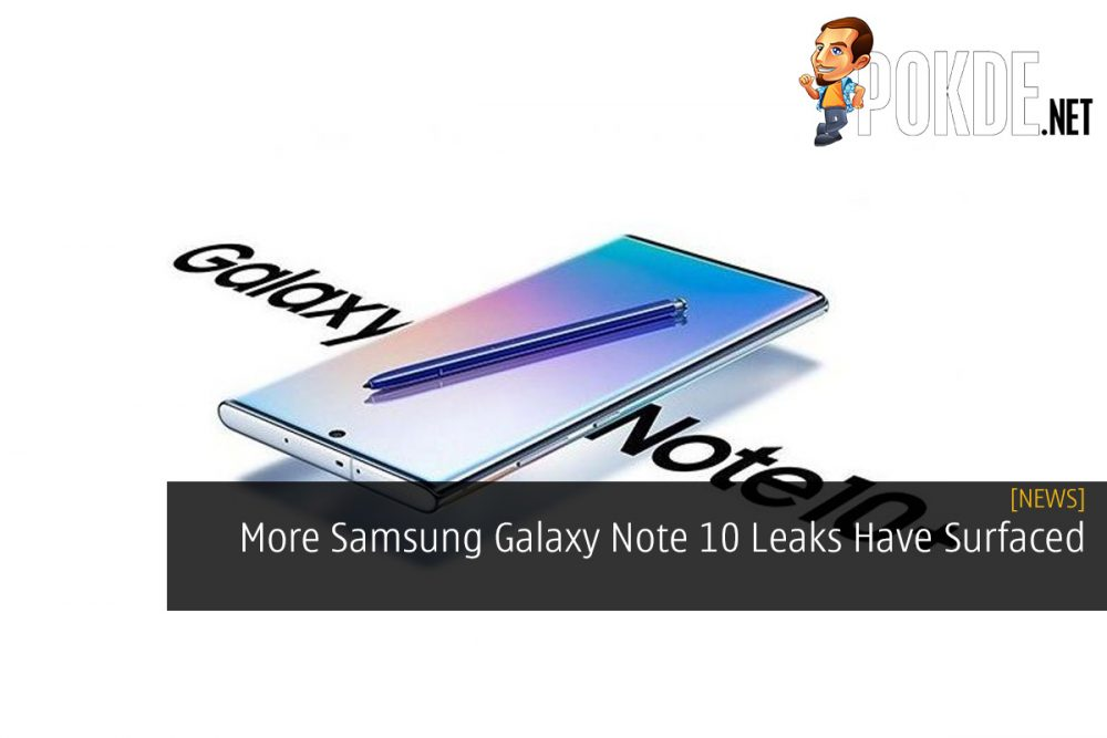 More Samsung Galaxy Note 10 Leaks Have Surfaced 25
