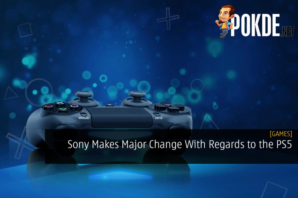 Sony Makes Major Change With Regards to the PlayStation 5