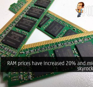 RAM prices have increased 20% and might just skyrocket soon 25