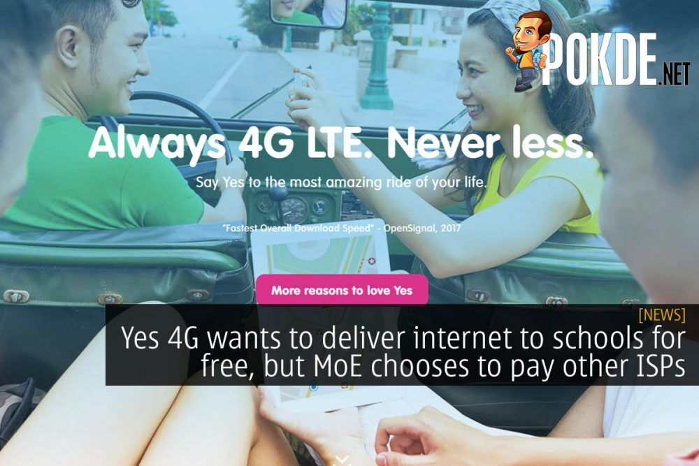 Yes 4G wants to deliver internet to schools for free, but MoE chooses to pay other ISPs 21