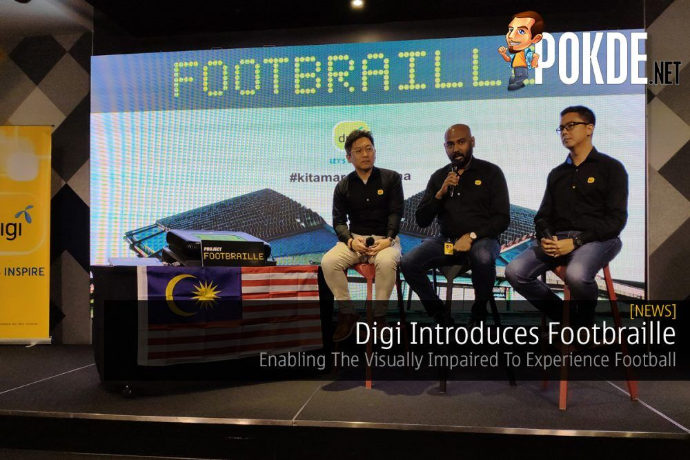 Digi Introduces Footbraille — Enabling The Visually Impaired To Experience Football 21