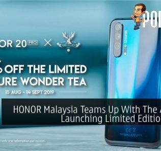 HONOR Malaysia Teams Up With The Alley In Launching Limited Edition Drink 20