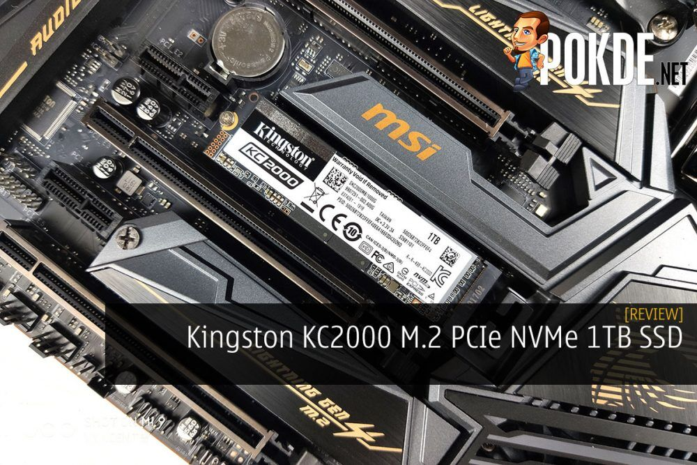 Kingston KC2000 M.2 PCIe NVMe 1TB SSD Review 20