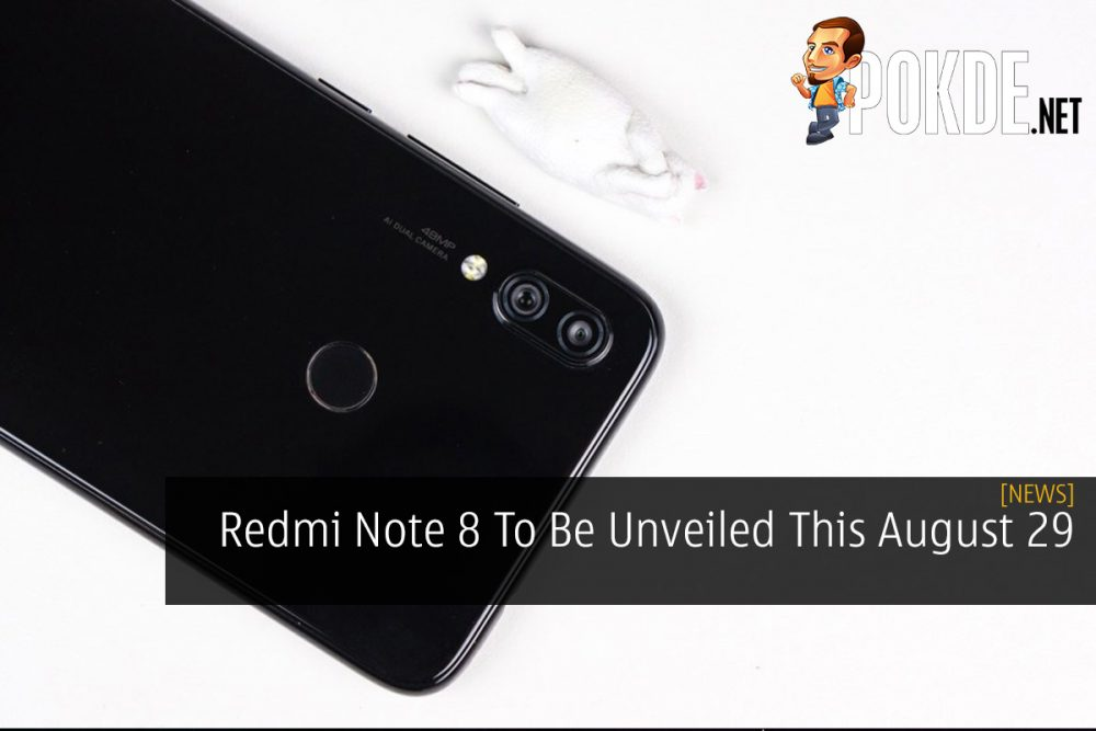 Redmi Note 8 To Be Unveiled This August 29 21
