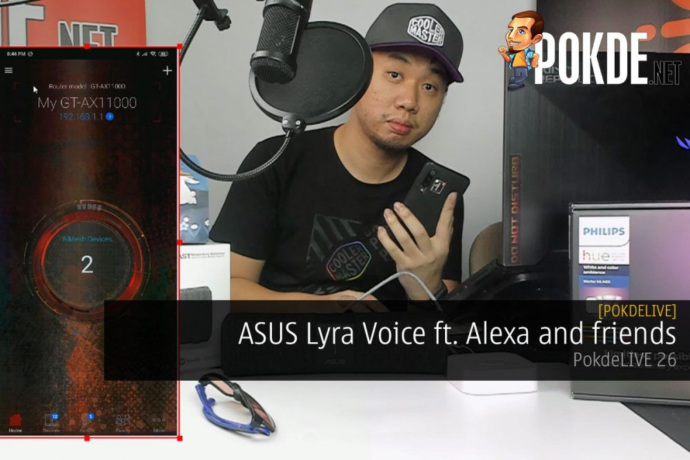 PokdeLIVE 26  — ASUS Lyra Voice ft. Alexa and friends 23