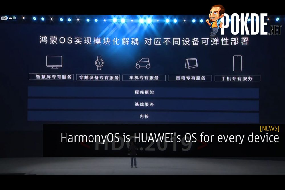 HarmonyOS is HUAWEI's OS for every device 23