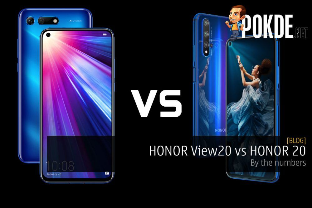 HONOR View20 vs HONOR 20 — by the numbers 24