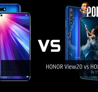 HONOR View20 vs HONOR 20 — by the numbers 26