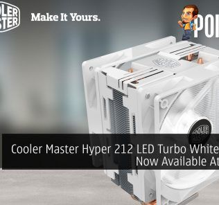 Cooler Master Hyper 212 LED Turbo White Edition Now Available At RM159 19