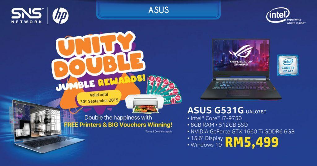Get a free printer and win cash vouchers with the Intel® Revolution Bonanza Campaign 27