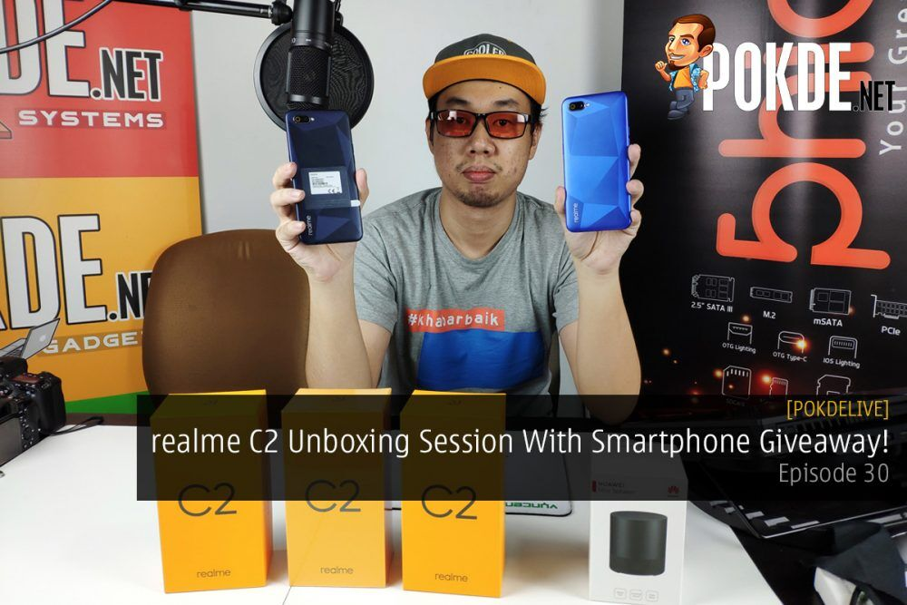 PokdeLIVE 30 — realme C2 Unboxing Session With Smartphone Giveaway! 23