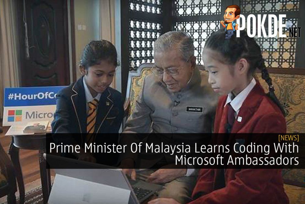 Prime Minister Of Malaysia Learns Coding With Microsoft Ambassadors 25