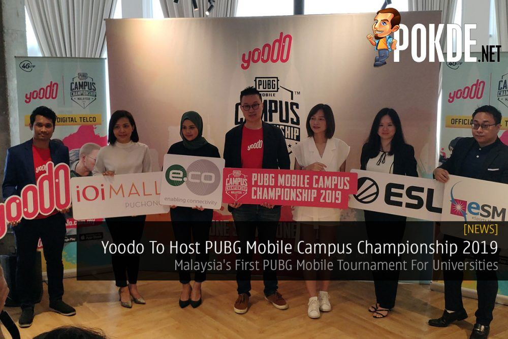 Yoodo To Host PUBG Mobile Campus Championship 2019 — Malaysia's First PUBG Mobile Tournament For Universities 18