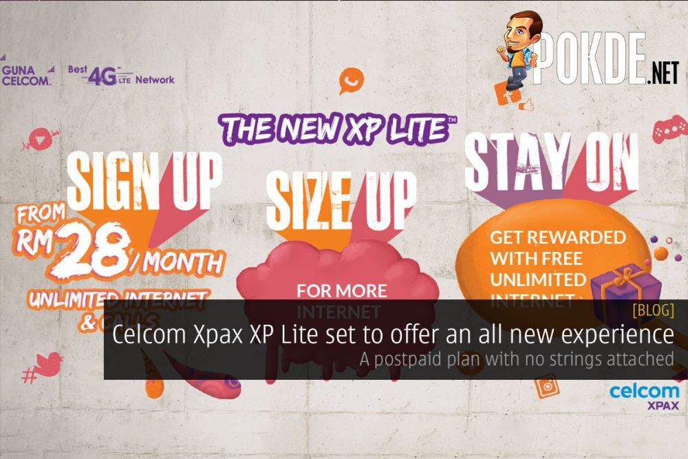 Celcom Xpax XP Lite set to offer an all new experience — a postpaid plan with no strings attached 25