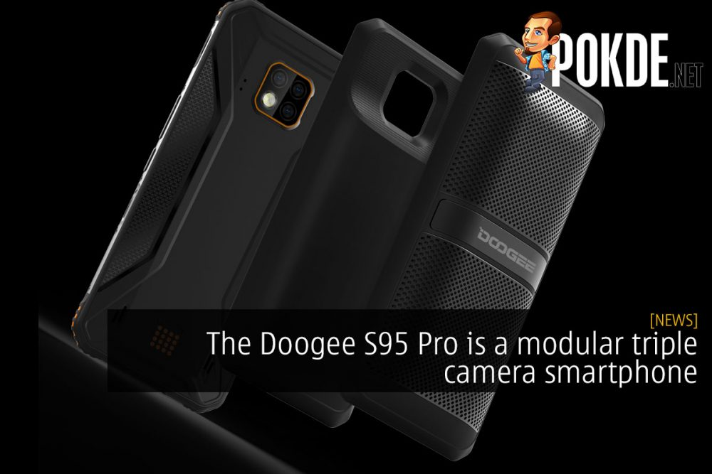 The Doogee S95 Pro is a modular triple camera smartphone 18