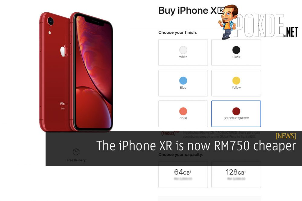 The iPhone XR is now RM750 cheaper 21