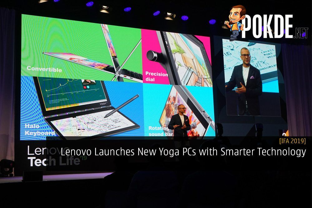 [IFA 2019] Lenovo Launches New Yoga PCs with Smarter Technology