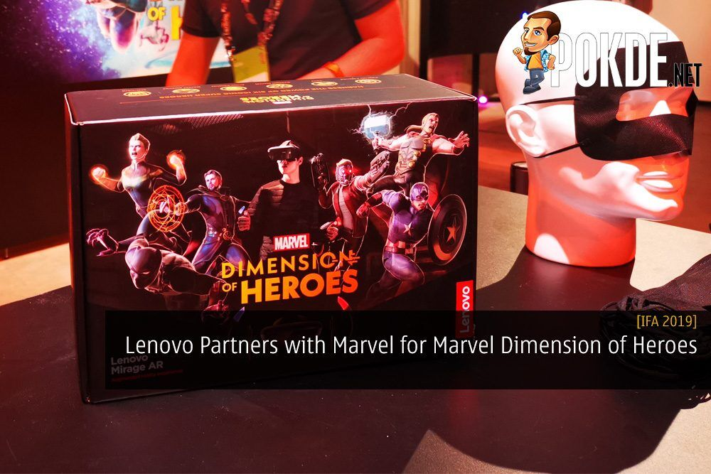 [IFA 2019] Lenovo Partners with Marvel for Marvel Dimension of Heroes AR Game 28