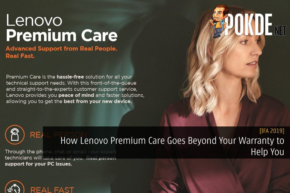 [IFA 2019] How Lenovo Premium Care Goes Beyond Your Warranty to Help You 22