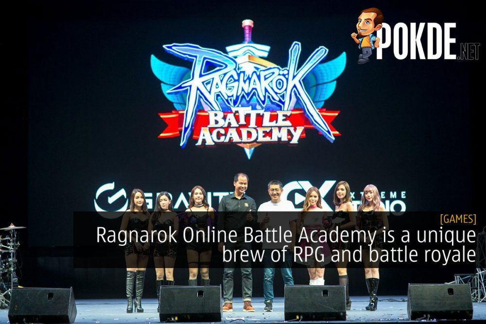 Ragnarok Online Battle Academy is a unique brew of RPG and battle royale 26