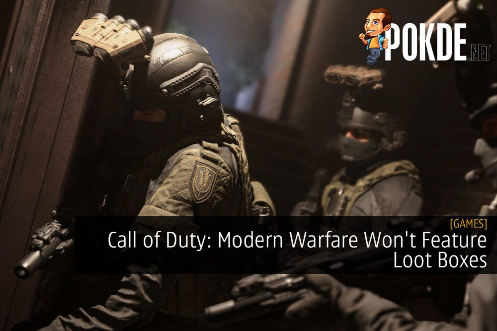 Call of Duty: Modern Warfare Won't Feature Loot Boxes 20