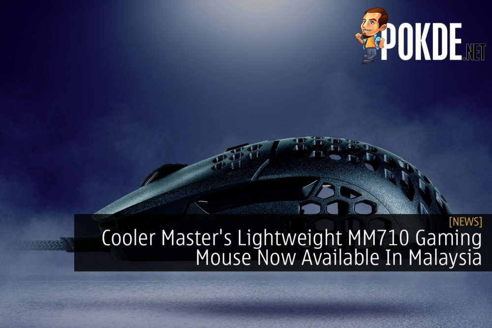 Cooler Master's Lightweight MM710 Gaming Mouse Now Available In Malaysia 24