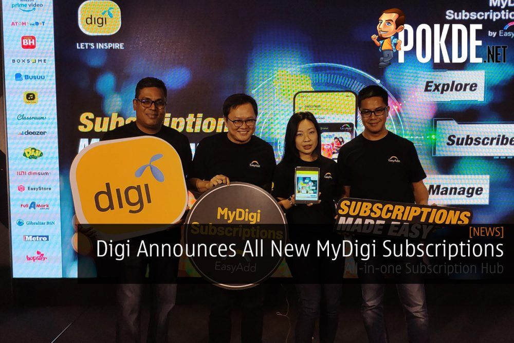 Digi Announces All New MyDigi Subscriptions — All-in-one Subscription Hub 26