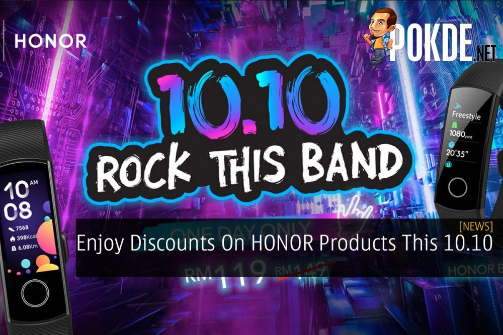 Enjoy Discounts On HONOR Products This 10.10 23