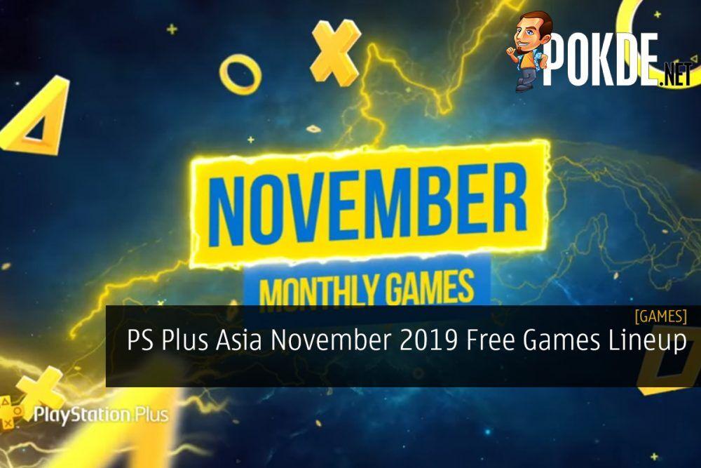 PS Plus Asia November 2019 Free Games Lineup 26