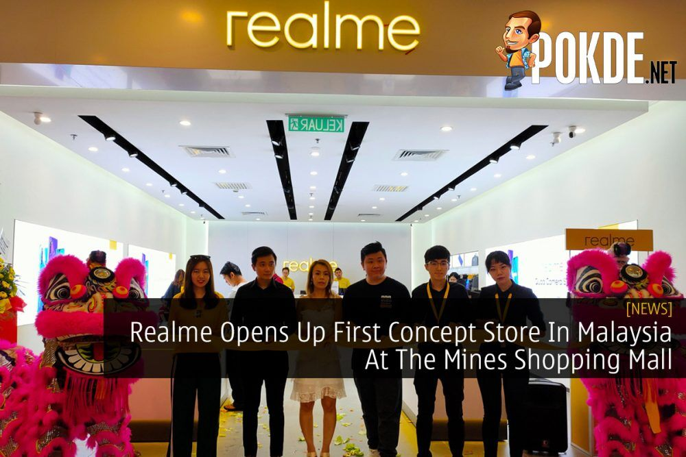 Realme Opens Up First Concept Store In Malaysia At The Mines Shopping Mall 20