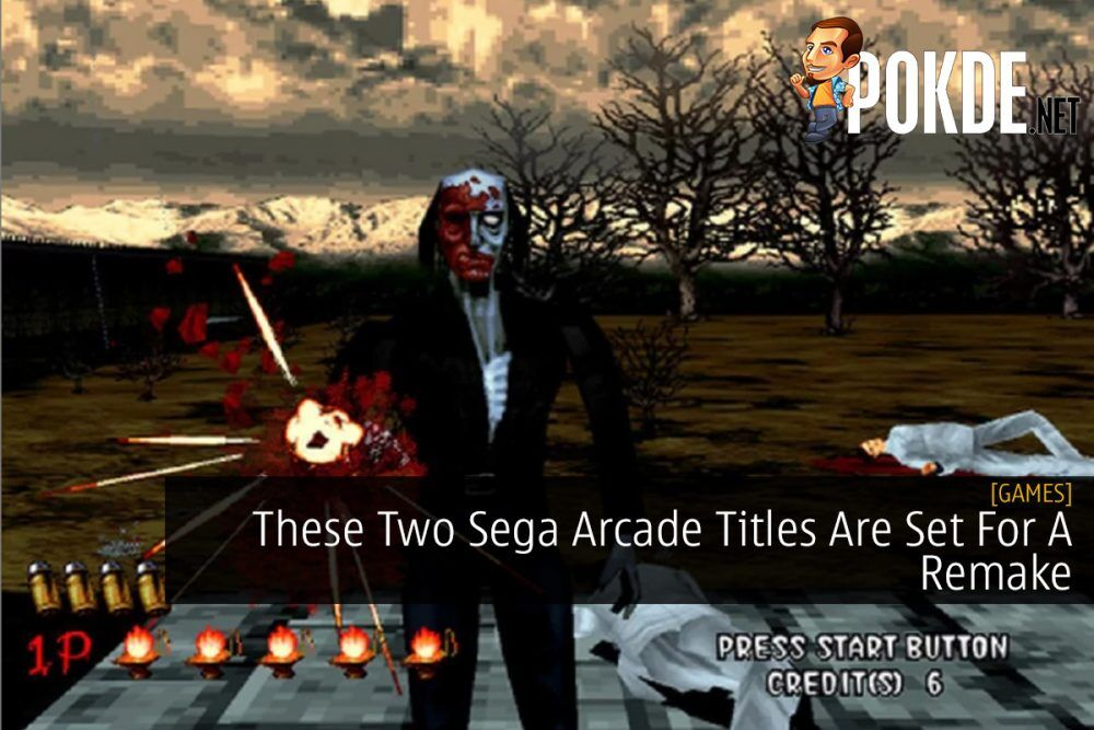 These Two Sega Arcade Titles Are Set For A Remake 25