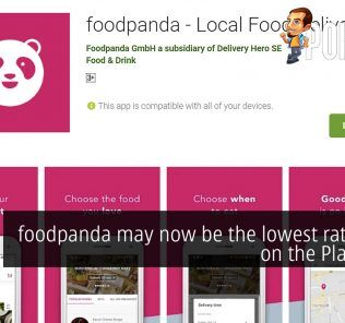 foodpanda may now be the lowest rated app on the Play Store 19