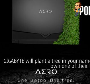 GIGABYTE will plant a tree in your name if you own one of their laptops 25