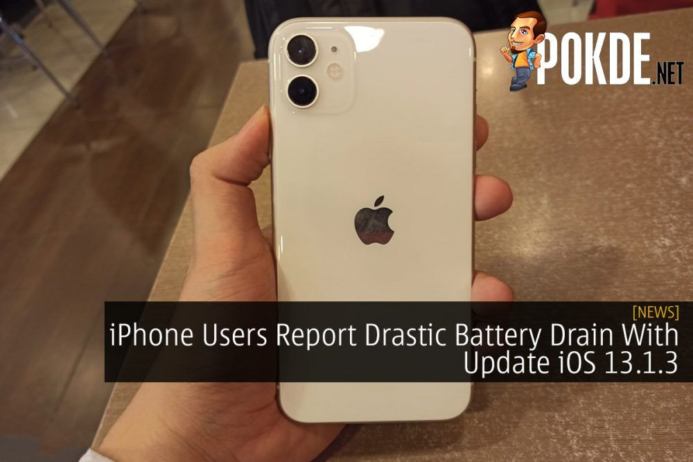 iPhone Users Report Drastic Battery Drain With Update iOS 13.1.3 26