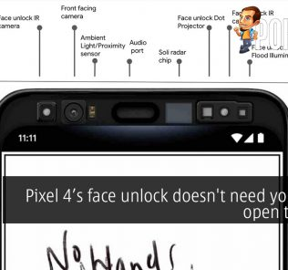 Pixel 4's face unlock doesn't need your eyes open to work 29