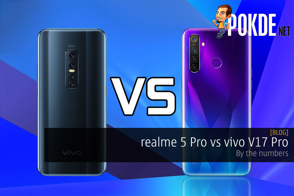 realme 5 Pro vs vivo V17 Pro — by the numbers 23