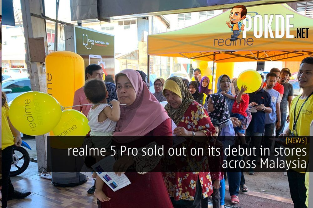 realme 5 Pro sold out on its debut in stores across Malaysia 23