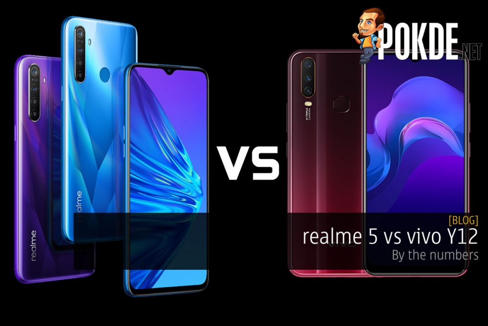 realme 5 vs vivo Y12 ⁠— by the numbers 25