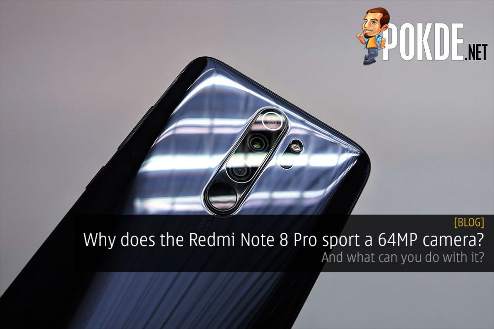 Why does the Redmi Note 8 Pro sport a 64MP camera? 25