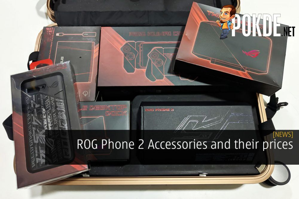 ROG Phone 2 Accessories and their prices 19