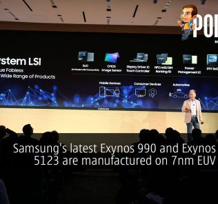 Samsung's latest Exynos 990 and Exynos Modem 5123 are manufactured on 7nm EUV process 27