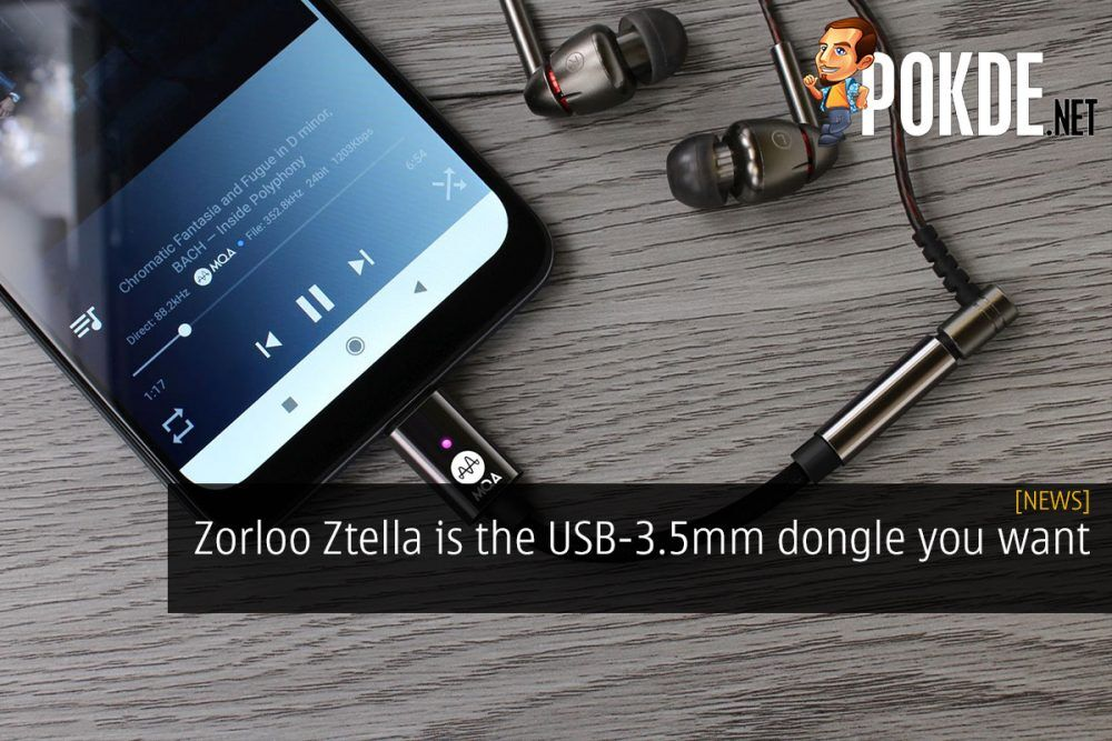 Zorloo Ztella is the USB-3.5mm dongle you want 23