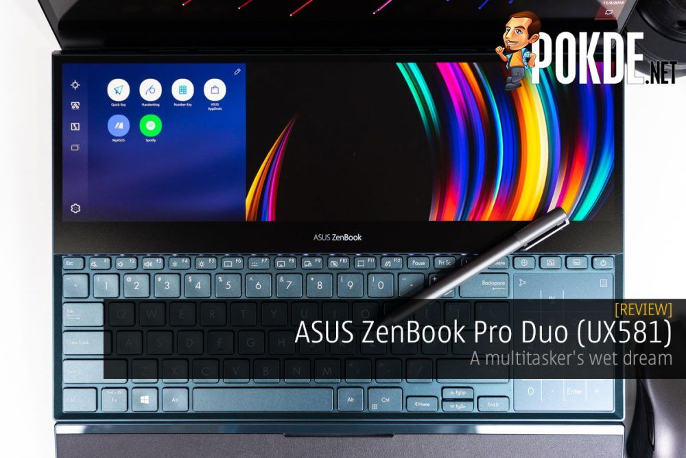ASUS ZenBook Pro Duo (UX581) Review — a multitasker's wet dream 26