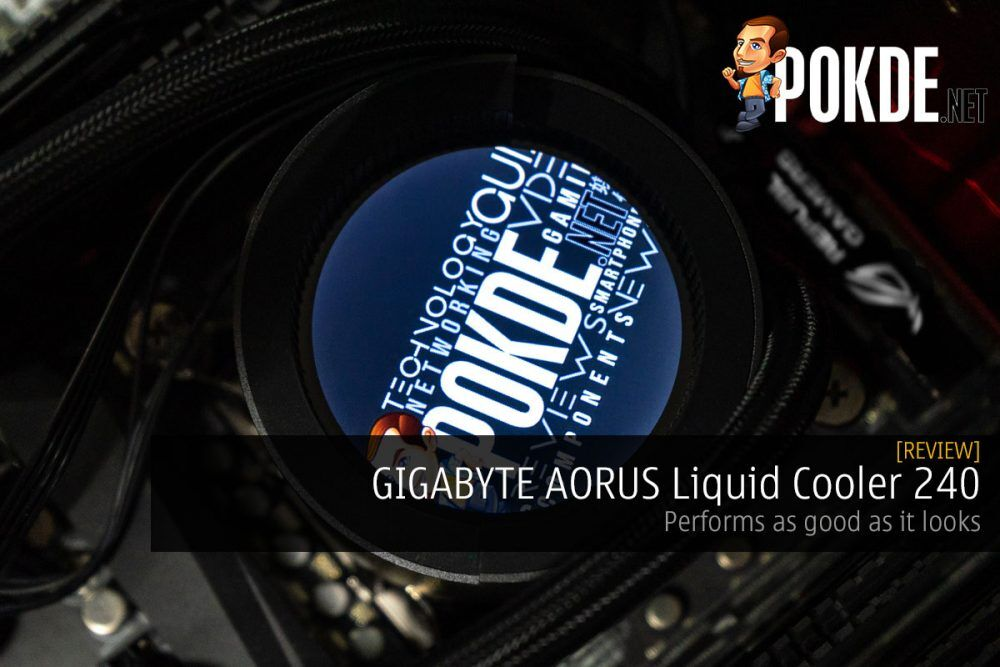 GIGABYTE AORUS Liquid Cooler 240 Review — performs as good as it looks 22