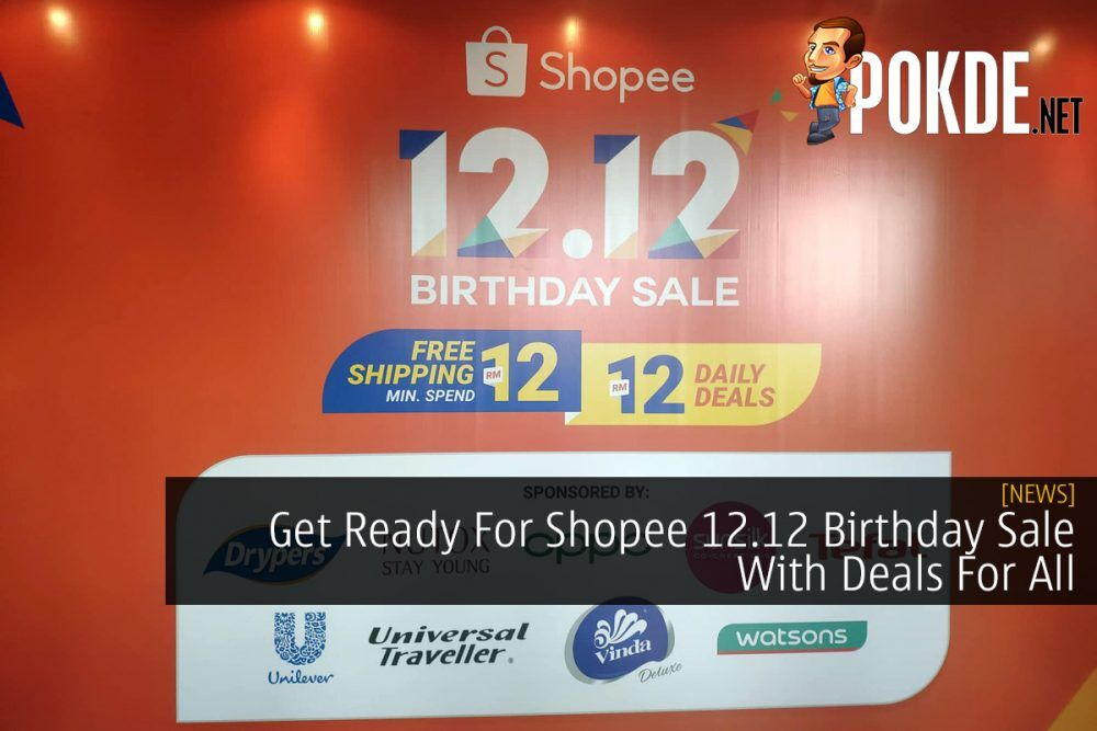 Get Ready For Shopee 12.12 Birthday Sale With Deals For All 21
