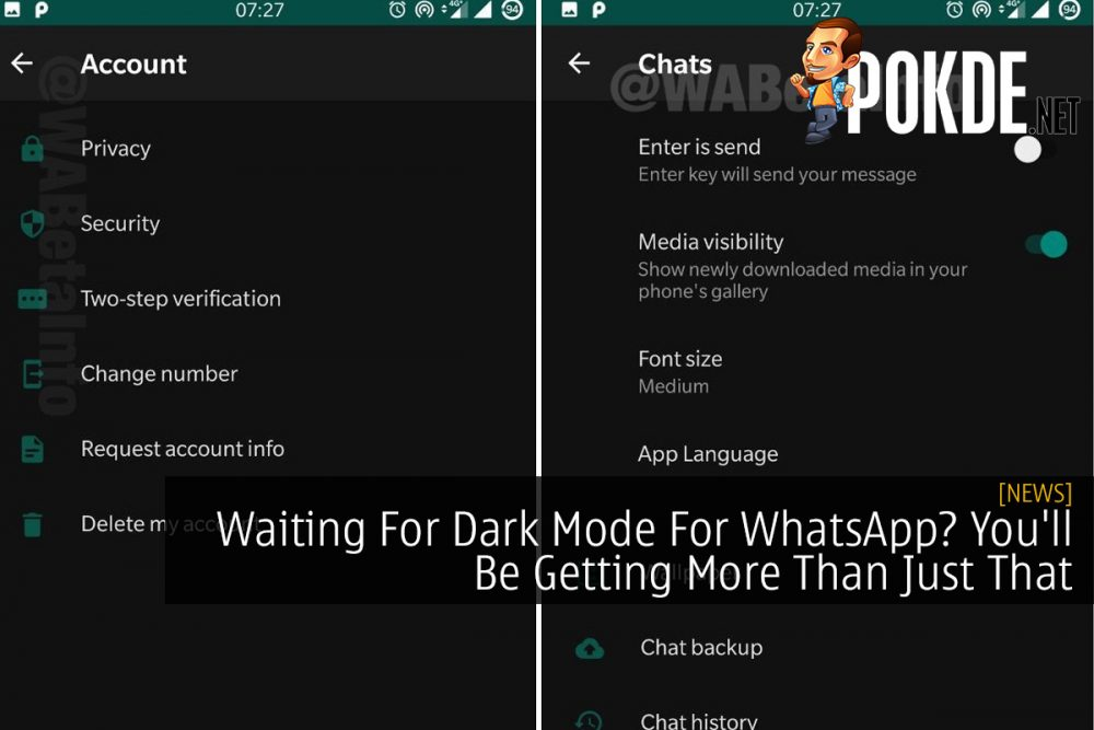 Waiting For Dark Mode For WhatsApp? You'll Be Getting More Than Just That 16