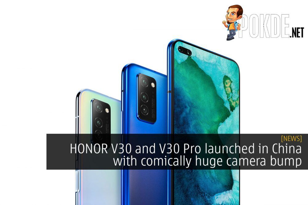 HONOR V30 and V30 Pro launched in China with comically huge camera bump 21