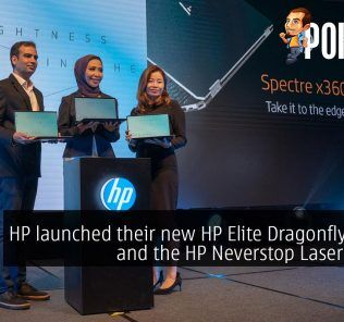 HP launched their new HP Elite Dragonfly laptop and the HP Neverstop Laser printer 25