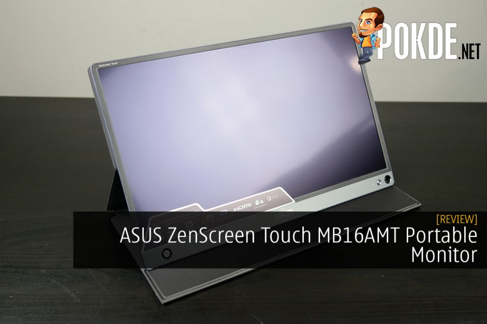 ASUS ZenScreen Touch MB16AMT Portable Monitor Review
